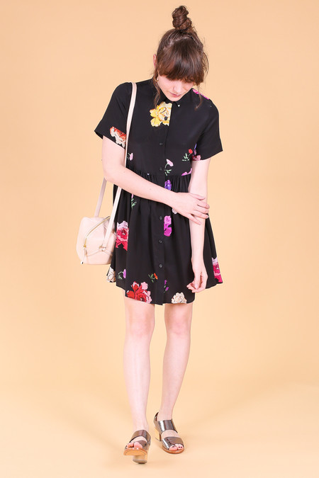Creatures of Comfort Bally dress in black floral