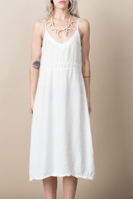 Lacausa Alma Slip Dress In Whitewash