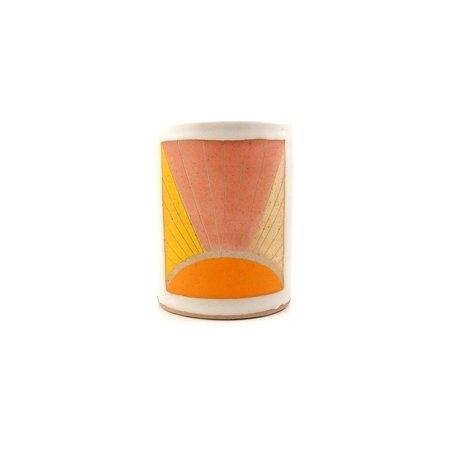 jen e ceramics Sunray Planter - Oragne