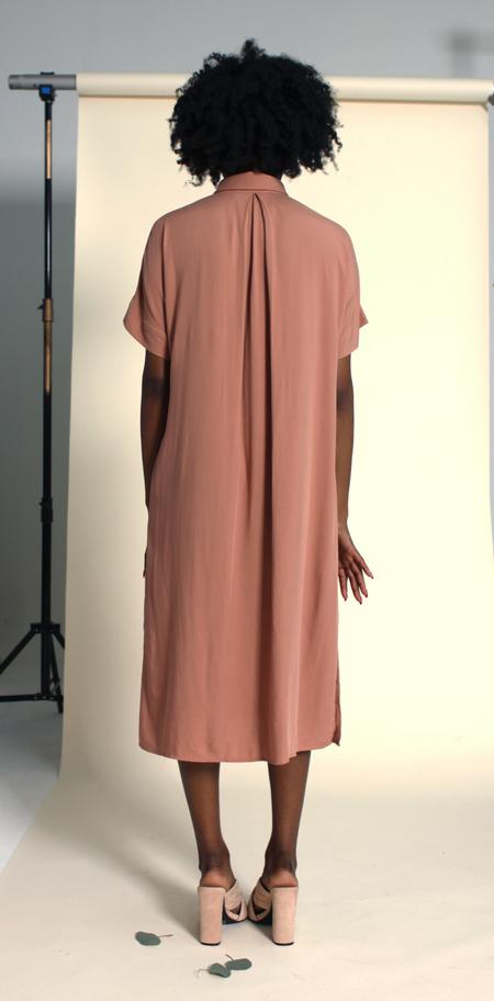 Plante Breeze Dress - Terra Cotta