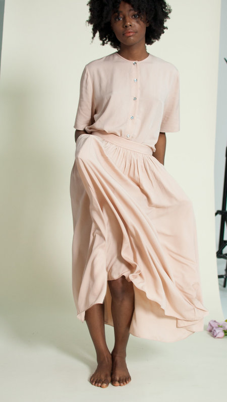 Plante Rose Skirt - Blush