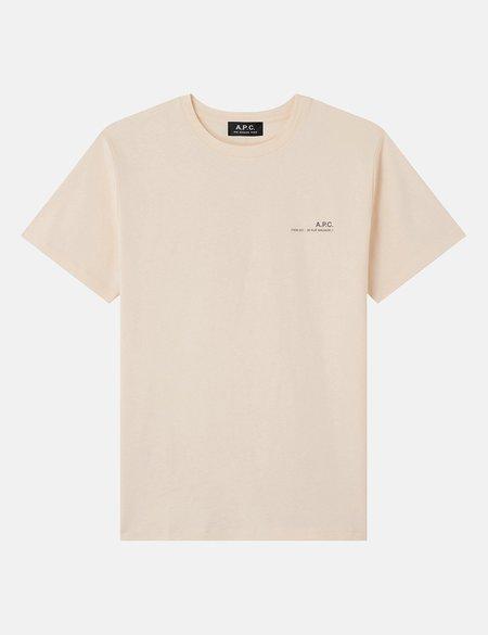 A.P.C. Item T-Shirt - Pale Pink