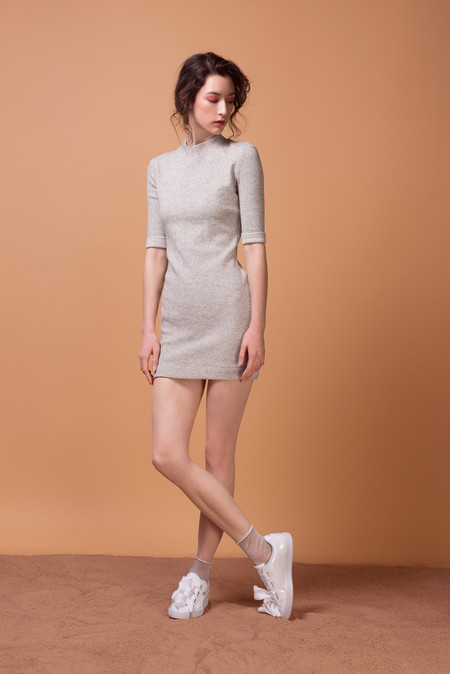 Odeyalo STRIPE LOÏC DRESS