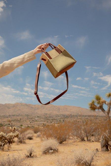Graf Lantz Jaunt Mini bag - Sage/Champagne/Sienna