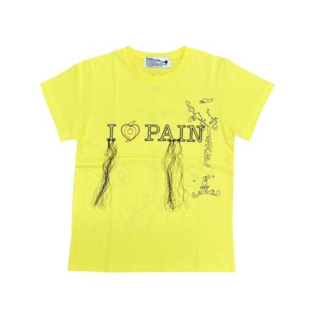 604service Pain T Shirt - Yellow