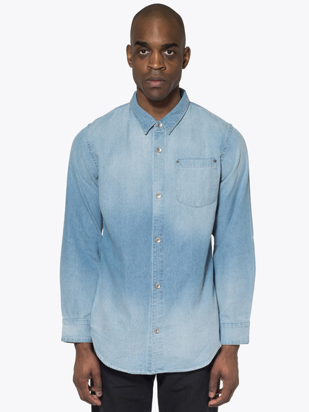 Robert Geller Denim Shirt