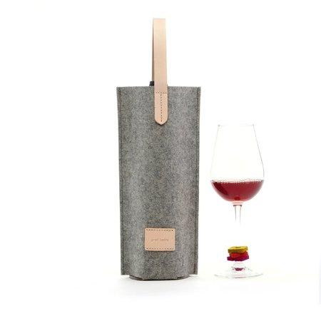 Graf Lantz Wine Lover's Single Carrier Set - Granite
