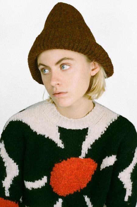 Paloma Wool Brady Hat - Caoba