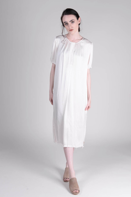Raquel Allegra Ribbon Placket Dress