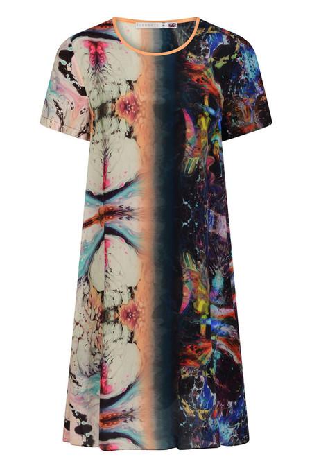 Klements Freida Dress - Orbit Print
