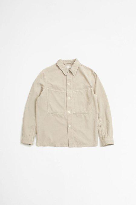 Lemaire Cotton Corduroy Overshirt - Plaster