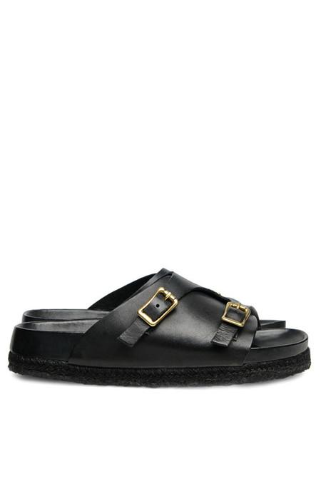 YUKETEN Leather Zuricher Sandal