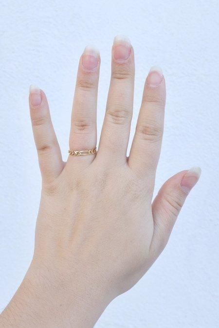 Mercurial Studio Fig Chain Ring - 14K Gold