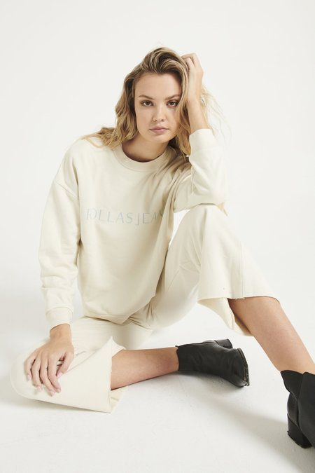 Rollas Editorial Slouch Sweater - cream