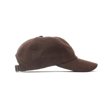 Norse Projects TWILL SPORTS CAP - BROWN