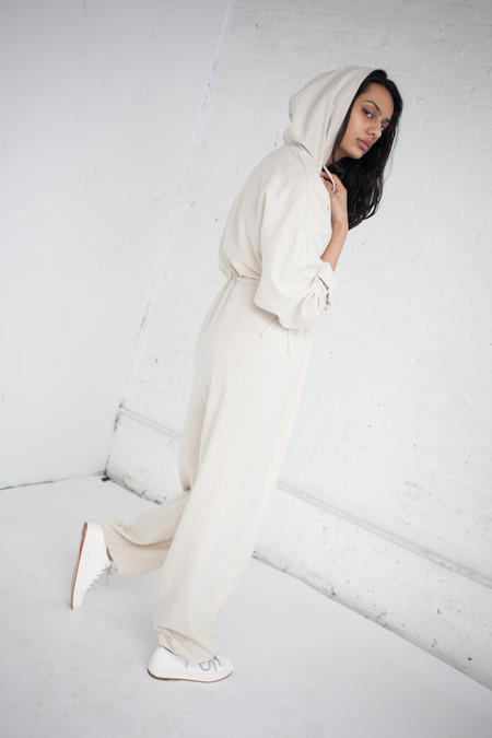 Baserange Hujui Jumpsuit in Off White