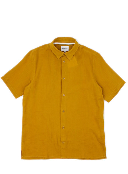 Norse Projects Theo Hemp Seersucker Edge Yellow