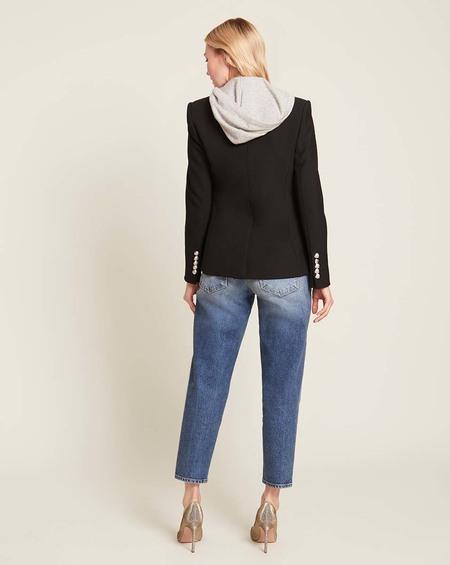 Veronica Beard Cashmere Hoodie Dickey sweater - Grey
