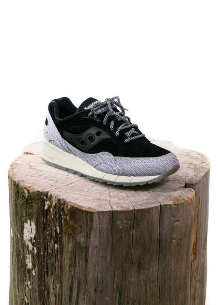 "Saucony Shadow 6000 ""Dirty Snow II"" - Black/Grey"