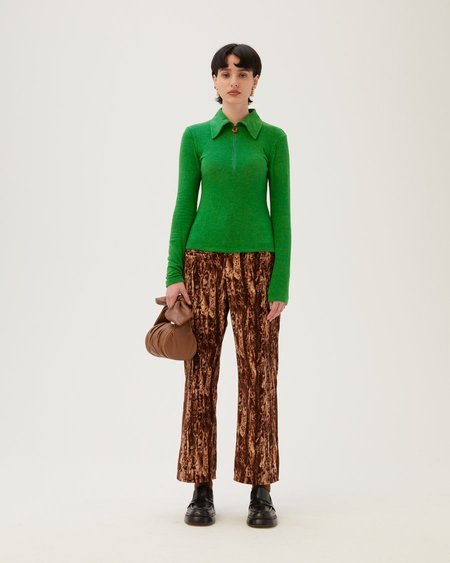 Rejina Pyo Jasmine Tencel Blend Jersey Top - Green