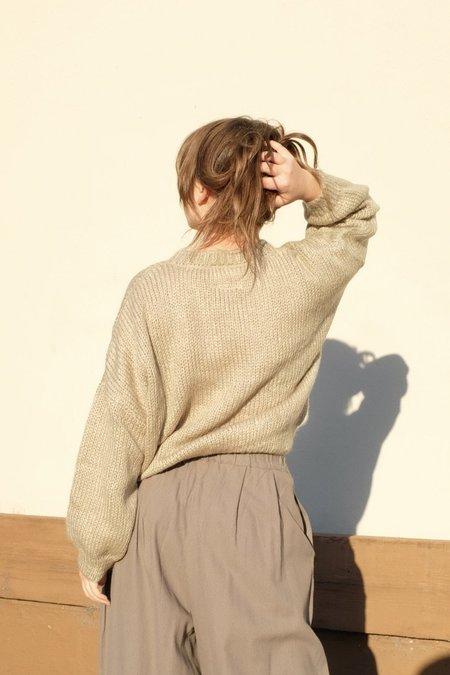 Rita Row Neem Sweater - Kakhi