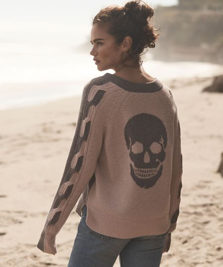 Nelina Sweater in Beechwood/Nougat