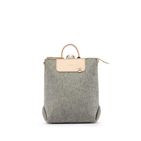 Graf Lantz Bedford Backpack Mini Felt - Granite/Natural