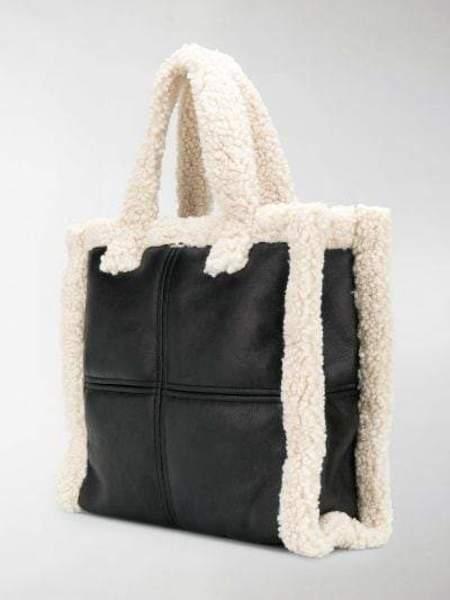 Stand Lolita Bag Medium - Black/White