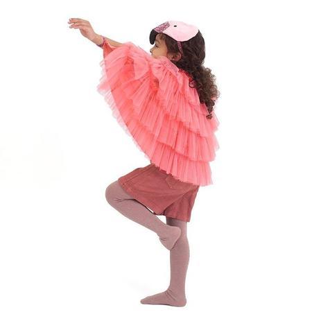 Kids Meri Meri Flamingo Cape Dress Up Kit - Pink