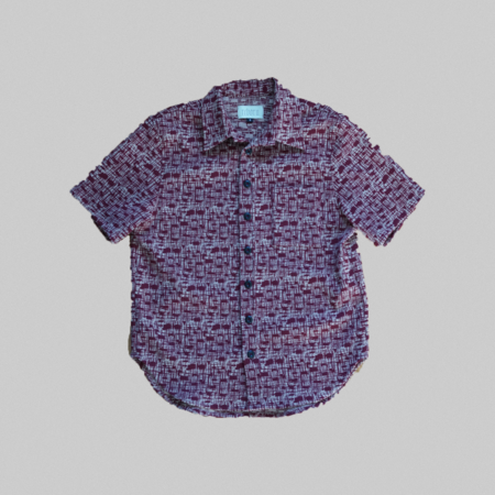 Reborn Garments Tweed Shortsleeve - red