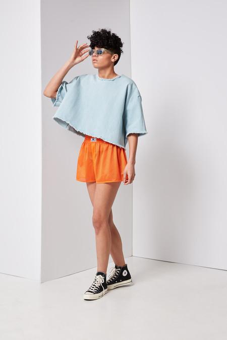 Ashley Rowe Tee Shirt (Super Light Denim)
