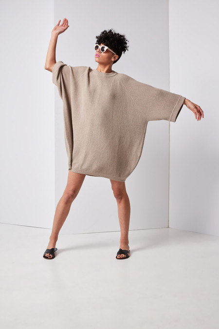 Kowtow Voyage Cape Dress