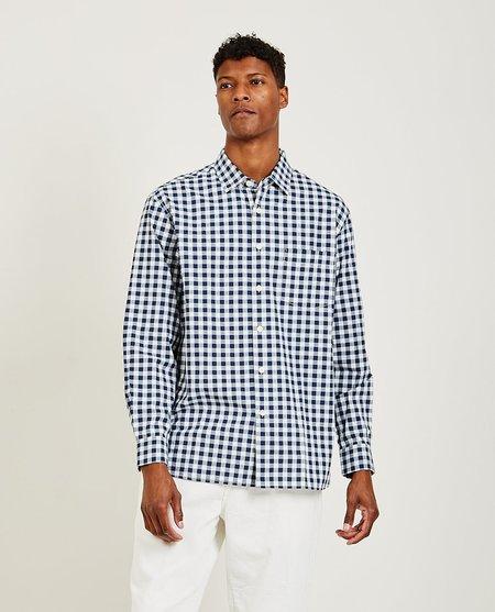 Alex Mill Easy Gingham Shirt - - NAVY/IVOR