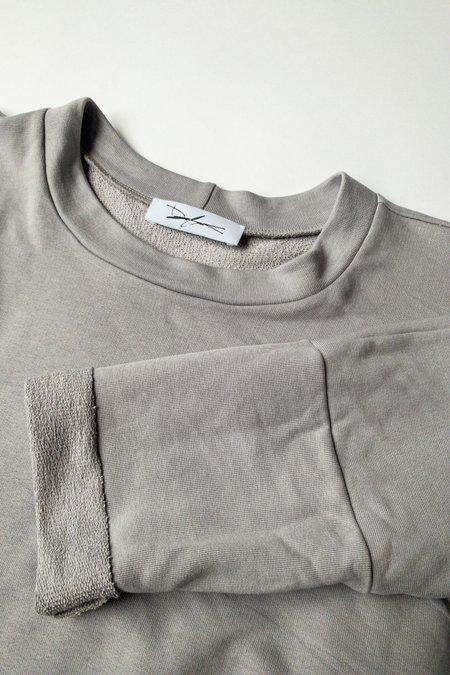 Devlyn Van Loon Pullover Sweatshirt Dress - Fog