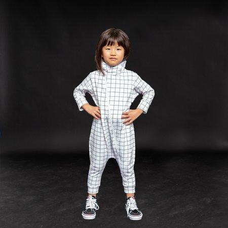 Kids Bash + Sass Maverick Romper - Black/White Grid