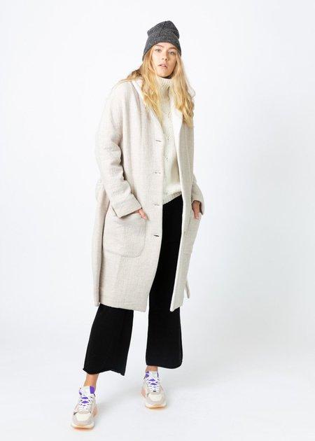 Echappees Belles Fall Coat - grey