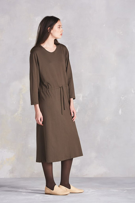 KOWTOW Building Block Lounge Dress in Moss