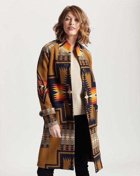 Pendleton Harding Archive Blanket Coat - Bronze
