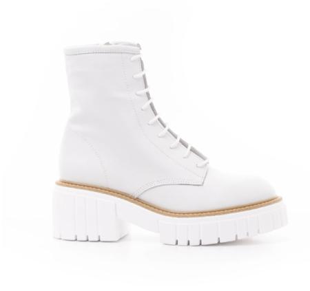 L'Intervalle Kington Leather Boot - White