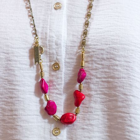 Marijke Bouchier 'Red Rocks Necklace'