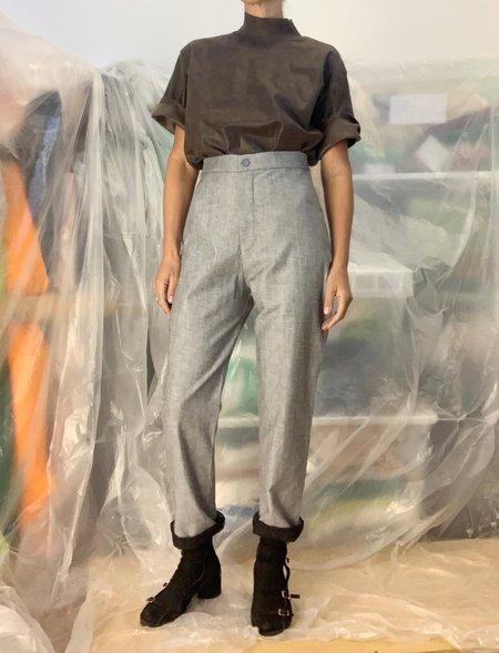Lotta Pants - Inside out black Denim