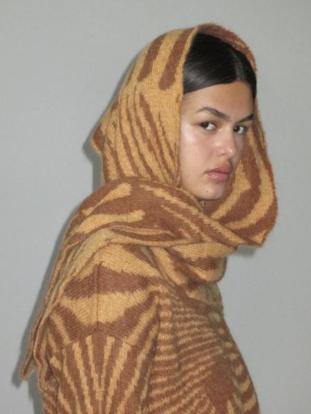 Paloma Wool Oráculo Scarf - Camel/Black