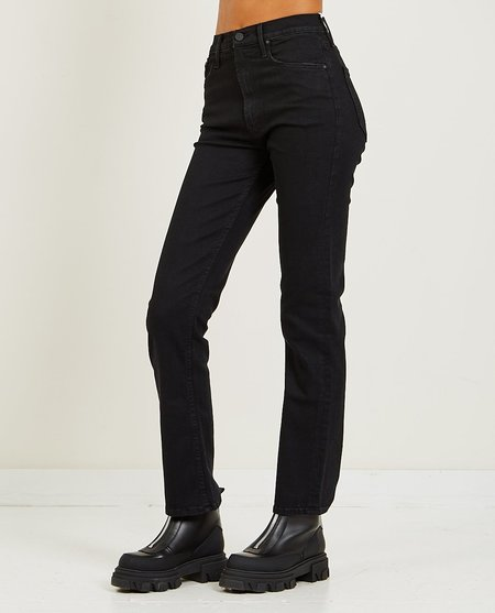 Mother Denim High Waisted Rider Skimp Jeans - Not Guilty