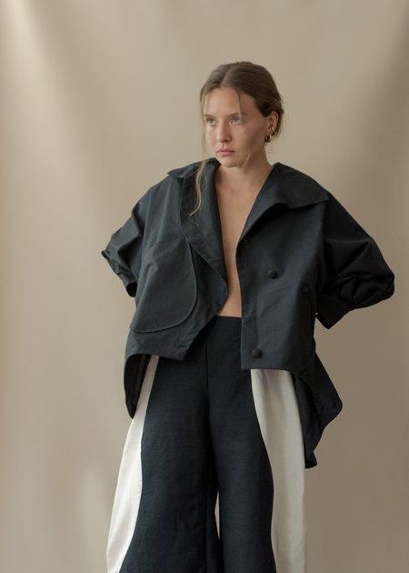 Nin Studio Flight Jacket Long - Black