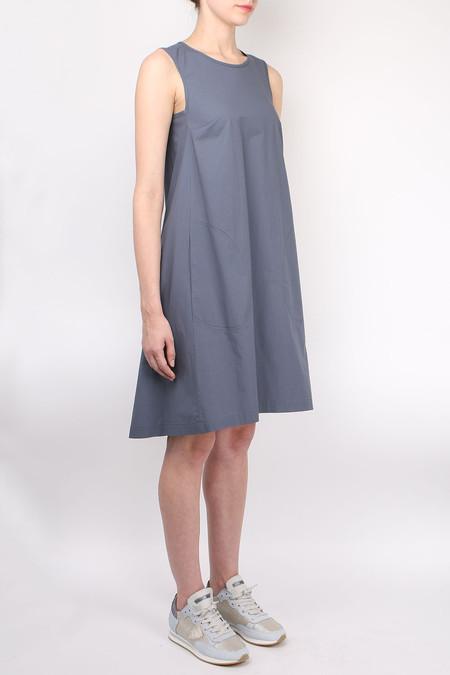 Peserico Sleeveless Swing Dress - Charcoal