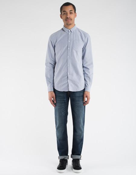 Minimum Jay Shirt Medium Blue