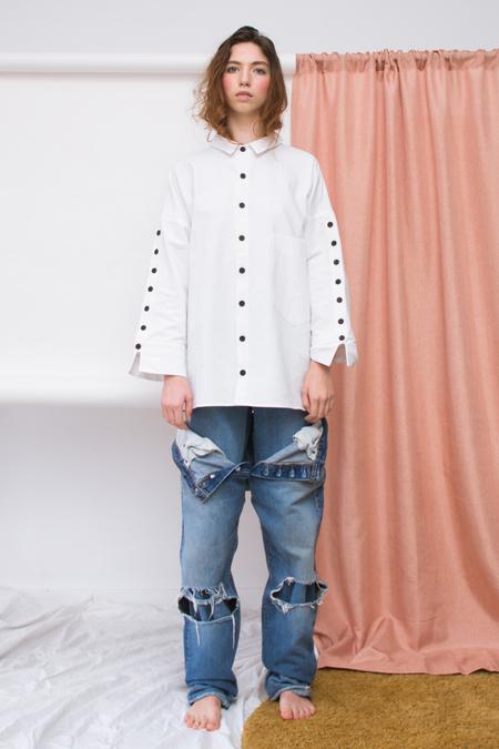 69 Button Up Sleeve Shirt