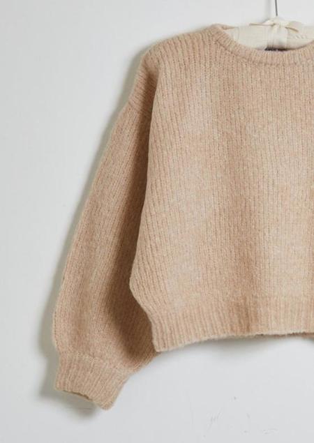 Atelier Delphine Ballon Sleeve Sweater - Grain