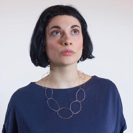 Patsy Kolesar 'Copper Links Necklace'