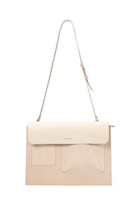 Lowell CONCORDIA VEGGIE TANNED NUDE LEATHER